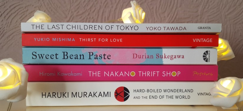 Top Five TBR - Japanese Literature