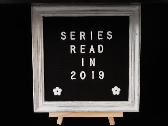 Series Read in 2019 Letter Board